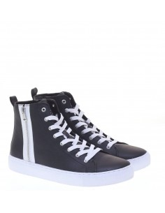 GUESS SNEAKERS BLK-WHITE