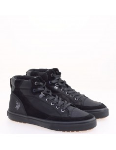 US POLO SNEAKERS BLACK