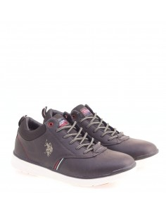 US POLO SNEAKERS DK-BROWN