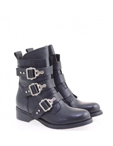 JUST JUCE shoes STIVALETTO NERO