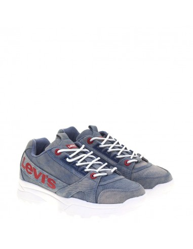 LEVI'S GIRLS SNEAKERS LIGHT-BLU