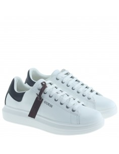 GUESS SNEAKERS WHITE-BLK