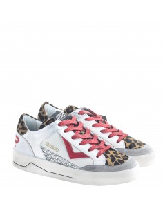 QB12 SNEAKERS DONNA WHI-RED