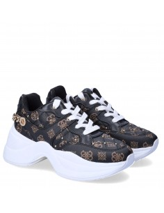 GUESS DONNA SNEAKERS BROWN