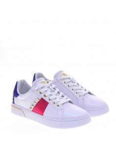 GUESS DONNA SNEAKERS WHI-FUXIA